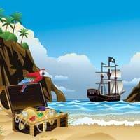 Insignia Kids Pirate Shower Cabin